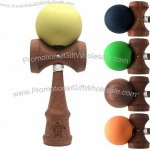 Sakuragi Kendama with Elastic Paint Ball