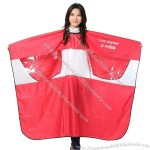 Salon Capes with Transparent Window for Play Mobile Phone