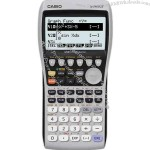 Scientific graphing calculator with GII functionality.