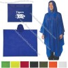 Screen Printed Adult Poncho