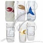Sea Bags Wine Tote - Made from recycled sails