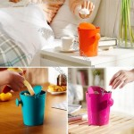 Shake Lid Mini Desktop Trash - Pen Holder