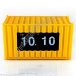 Shipping Container Auto Flip Clock