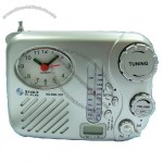 Shower Clock AM/FM Radio