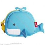 Shy Whale Messenger Bag with Neoprene Material Single-Shoulder