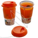 Silicone Cup Lid with Cover