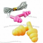Silicone Ear Plug With Cord For Swimming