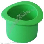 Silicone Flower Pot Green