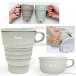 Silicone Folding Cup Portable Coffee Mug