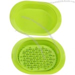 Silicone Food Steamer with Filter layer