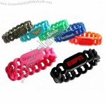 Silicone Links Wristband