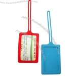 Silicone Luggage Tag and Card Holder