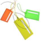 Silicone Luggage Tag for Travel