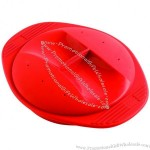 Silicone Round Steamer Cooker Microwave or Traditional Oven with Lid