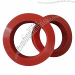 Silicone rubber gasket with various colors and sizes, made according to your sample or drawing