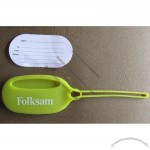 Silicone Rubber Luggage Tag