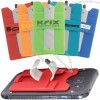 Silicone Smart Wallet with Stylus Stand