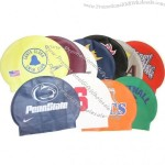 Silicone Swim Cap in assorted colors and logos