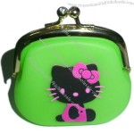 Silicone Wallet Coin Purse Phone Pouch