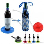 Silicone Wine Basket/Scald Protection Coaster