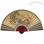 Silk Gift Fan for Home Decoration