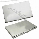 Silver Aluminum Business Card Cases