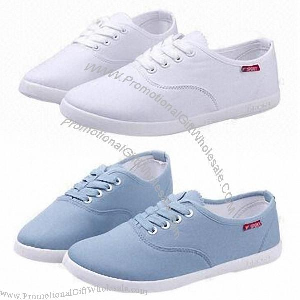 simple ladie s canvas shoe with classic design made of
