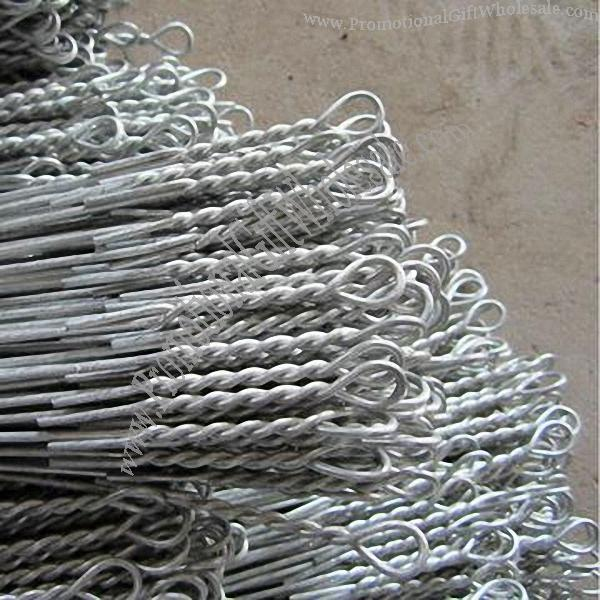 Baling Wire Product : Single loop baling wire ties hot dipped galvanized