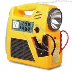 Six-in-one Jump Starter Series with 120 to 240V AC Charging Input and Power Inverter