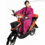 Sleeved Scooter Raincoat, Motorcycle Poncho