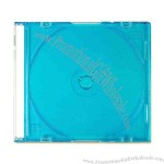 Slim Line CD Jewel Case, blue.