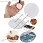 Slim Medallion USB Flash Drive