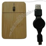 Slim Wooden Mouse