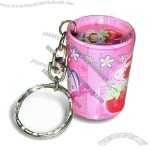 Small Gift Tin with Keychain