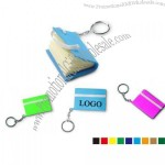 Small Notebook Keychain