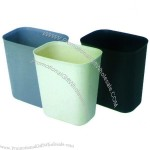 Small Oval-shaped Dustbin