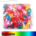 Small Sized Balloons in Mixed Colors