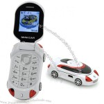 Small Sports Car Mobile Phone - Unlocked Quad Band Dual SIM