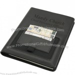 Smart Phone Business Portfolio with 4-Pockets/Pen Holder