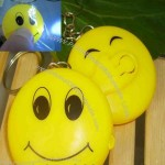 Smiley Faces LED Keychain