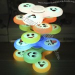 Smiling Face LED Light Hand Fidget Spinner
