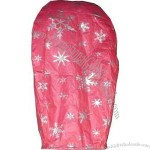Snow Flake Red Color Paper Sky Lantern