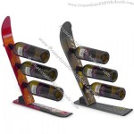 Snow Ski Wine Rack