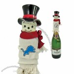 Snowman Wine Bottle Covers