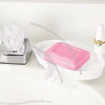 Soap Dish with 47-inch Ring Holder
