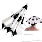 Soccer Design Umbrella Hat