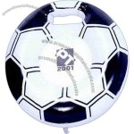 "Soccer - Inflatable 15"" (deflated) stadium cushion."