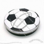Soccer Shaped Gift Tin Can