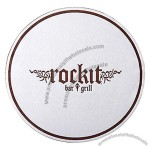 "Soft Embossed 4"" Round Tissue Coaster"