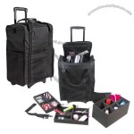 Soft Nylon Trolley Cosmetic Case